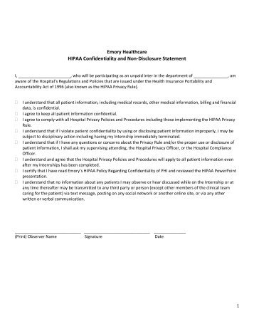 office relationship disclosure form
