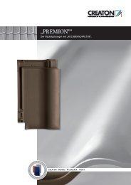 """""""PREMION®"""" - Creaton AG"""