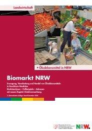 Biomarkt NRW - Ministerium für Klimaschutz, Umwelt, Landwirtschaft ...