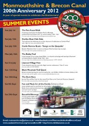 View a list of planned events in Welsh - Canal & River Trust