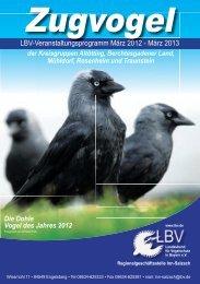 Veranstaltungen 2012 - Umweltgarten in Wiesmühl an der Alz