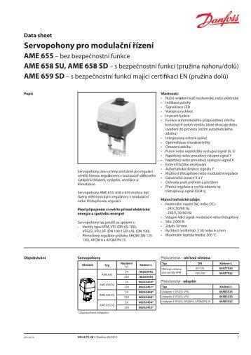AME 659 SD - Danfoss