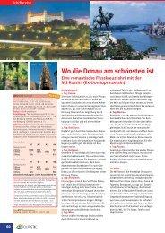 Wo die Donau am sch