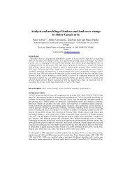 Analysis and modeling of land-use and land-cover change in Sintra ...