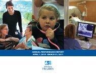 2011 Annual Report - Western Health