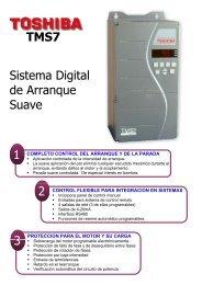 Sistema digital de arranque suave Toshiba TMS7 - Interempresas
