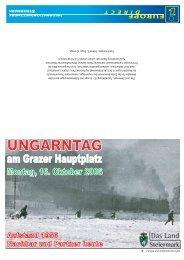 Ungarntag am Grazer Hauptplatz - 16. Oktober 1956 - Europa ...