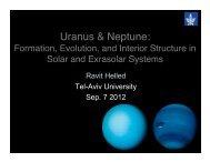 Uranus & Neptune: