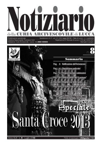 notiziario - Arcidiocesi di Lucca