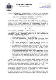 Relazione Responsabile del Procedimento 16-04-09 - Comune di ...