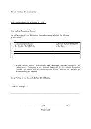 Beca Vordruck - Deutsche Schule Las Palmas de Gran Canaria