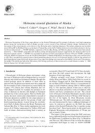 Holocene coastal glaciation of Alaska