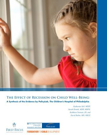 The Effect of Recession on Child Well-Being: - AnnArbor.com