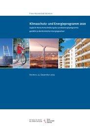 Klimaschutz und Energieprogramm 2020 - Bremen