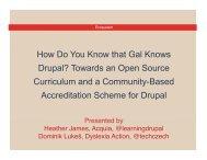 Certification - DrupalCon London