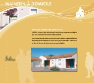 Maintien à doMicile - Vendée Habitat
