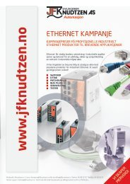 Kampanje Ethernet - Sivilingeniør JF Knudtzen AS