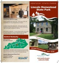 Lincoln Homestead State Park - Kentucky State Parks