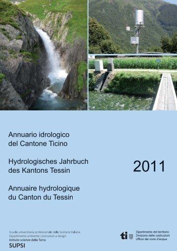 Anno 2011 - Repubblica e Cantone Ticino