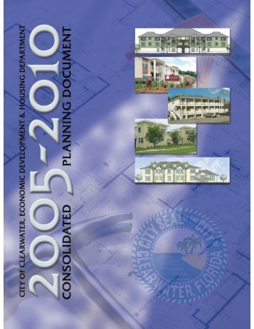 FY2005-2010 Consolidated Planning Document - City of Clearwater