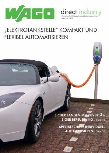 Elektrotankstelle - Wago
