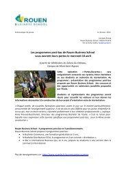 Les programmes post-bac de Rouen Business School vous ouvrent ...