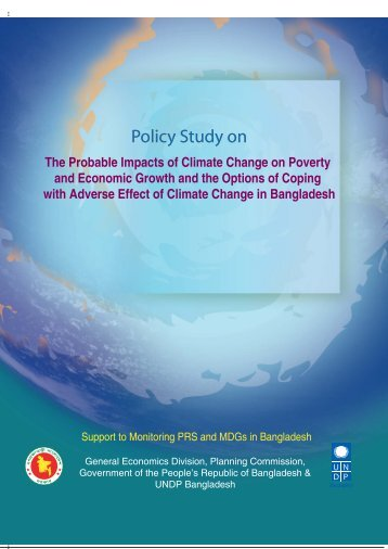 The probable impacts of climate change on poverty - UNDP