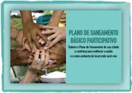 plano de saneamento básico participativo - Secretaria do Meio ...