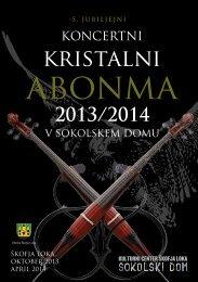 Katalog (pdf) - Sokolski dom