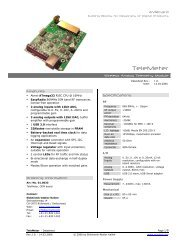 TeleMeter Datasheet 01-0033_1_0 - AVRcard