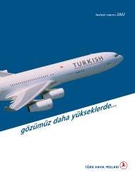 Faaliyet Raporu, 2002 - Turkish Airlines