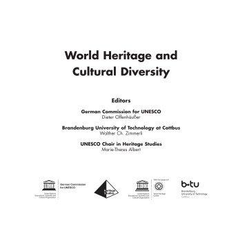World Heritage and Cultural Diversity - Deutsche UNESCO ...