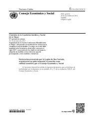Consejo Económico y Social - LBV