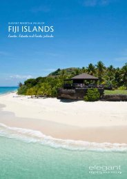 Fiji islands - Elegant Resorts and Villas