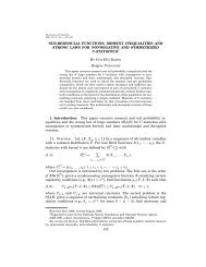 SUB-BERNOULLI FUNCTIONS, MOMENT INEQUALITIES AND ...
