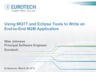 Using MQTT and Eclipse Tools to Write an End-to-End M2M ...