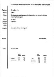 l - Systematik und Evolutionsbiologie