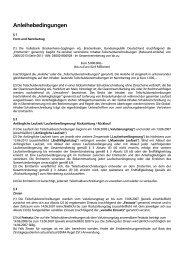 Anleihebedingungen - Volksbank Brackenheim-Güglingen