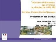 Diaporama de présentation (Azé,4/11/10) - DREAL des Pays de la ...