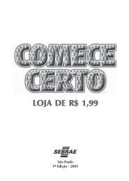 loja de R$ 1,99 - Sebrae