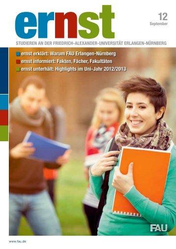 FAUcard - Friedrich-Alexander-Universität Erlangen-Nürnberg