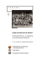 Infomappe (PDF) - Evangelische Akademie Baden