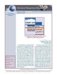 Demand Response Dispatcher Volume 2 Issue 3 - IEA Demand ...