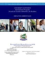 International Programs Escuela de Gestión Ambiental y de Residuos