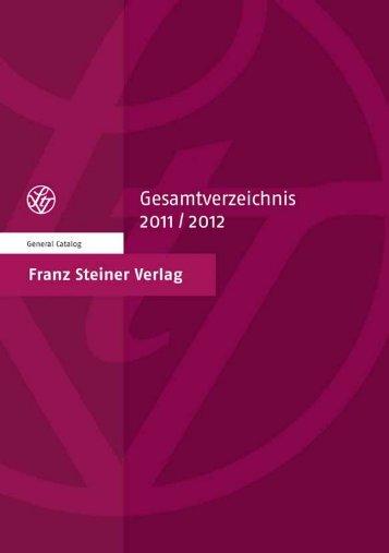 Untitled - Franz Steiner Verlag