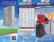 Extreme Clean Brochure - Luber-finer