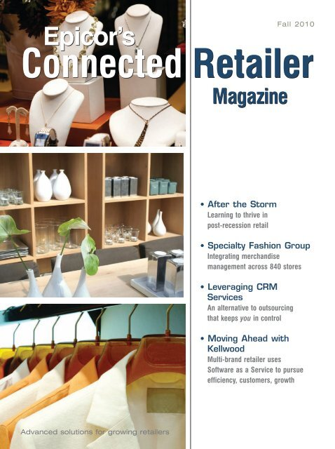 Connected Retailer Connected Retailer - Hospitality Technology