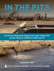 In the Pits - Oil and Gas Wastewater in California