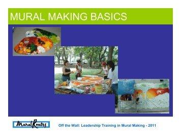 MURAL MAKING BASICS - Mural Routes