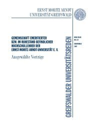 Fischerteppich - Ernst-Moritz-Arndt-Universität Greifswald